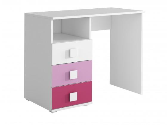 Detské izby ZLACNENÉ FOX 08 - Pracovný stôl (ružová)