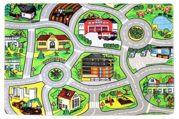 Detské koberce Kusový koberec Silnice 11 (110x160 cm)