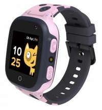 Detské smart hodinky Canyon Sandy, GPS + GSM, ružová