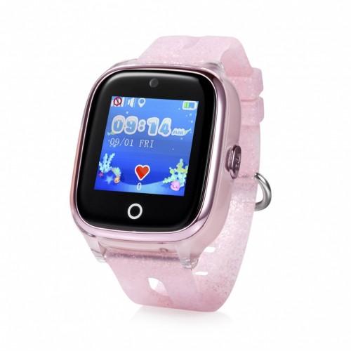 Detské smart hodinky Cel-tec Kids 01 s lokátorom GPS, ružová
