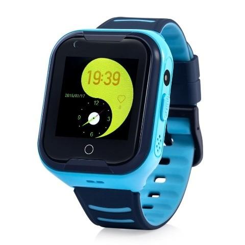 Detské smart hodinky Cel-tec Kids 11 s lokátorom GPS, modrá