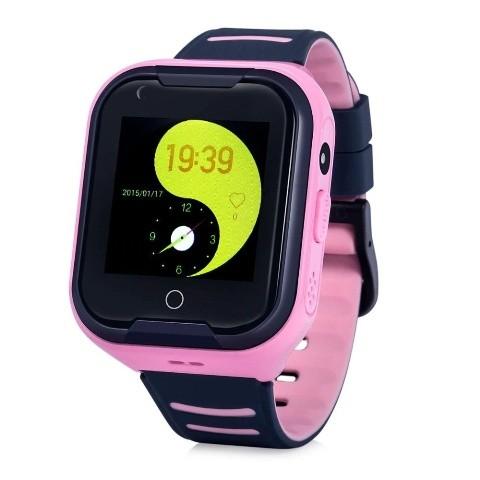 Detské smart hodinky Cel-tec Kids 11 s lokátorom GPS, ružová