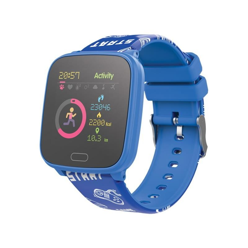 Detské smart hodinky Detské smart hodinky Forever IGO JW-100, IP68, modré
