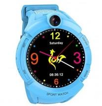 Detské smart hodinky GW600 s GPS, modrá