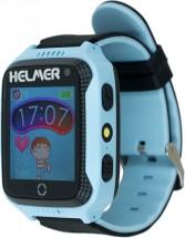 Detské smart hodinky Helmer LK 707 s GPS lokátorom, modrá POUŽITÉ