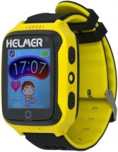 Detské smart hodinky Helmer LK 707 s GPS lokátorom, žltá