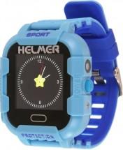 Detské smart hodinky Helmer LK 708 s GPS lokátorom, modrá