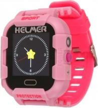 Detské smart hodinky Helmer LK 708 s GPS lokátorom, ružová