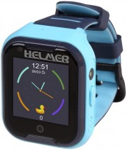 Detské smart hodinky Helmer LK 709 s GPS lokátorom, modrá