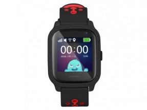 Detské smart hodinky Smartomat Kidwatch 3, čierna NEKOMPLETNÉ PŘÍ