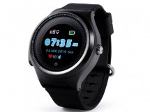 Detské smart hodinky Smartomat Kidwatch 3 Circle, čierna