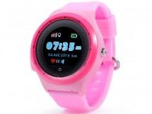 Detské smart hodinky Smartomat Kidwatch 3 Circle, ružová