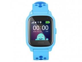 Detské smart hodinky Smartomat Kidwatch 3, modrá