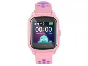 Detské smart hodinky Smartomat Kidwatch 3, ružová