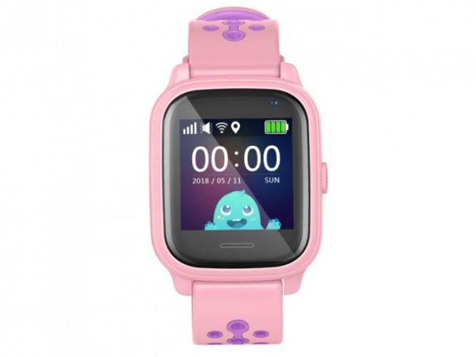 Detské smart hodinky Smartomat Kidwatch 3, ružová POUŽITÉ, NEOPOT