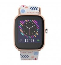 Detské smart hodinky Vivax Kids Hero, béžová