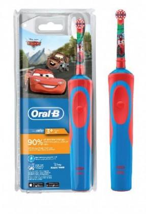 e859e49d2 ... Elektrické kefky Detský elektrická zubná kefka Oral-B Vitality Kids Cars