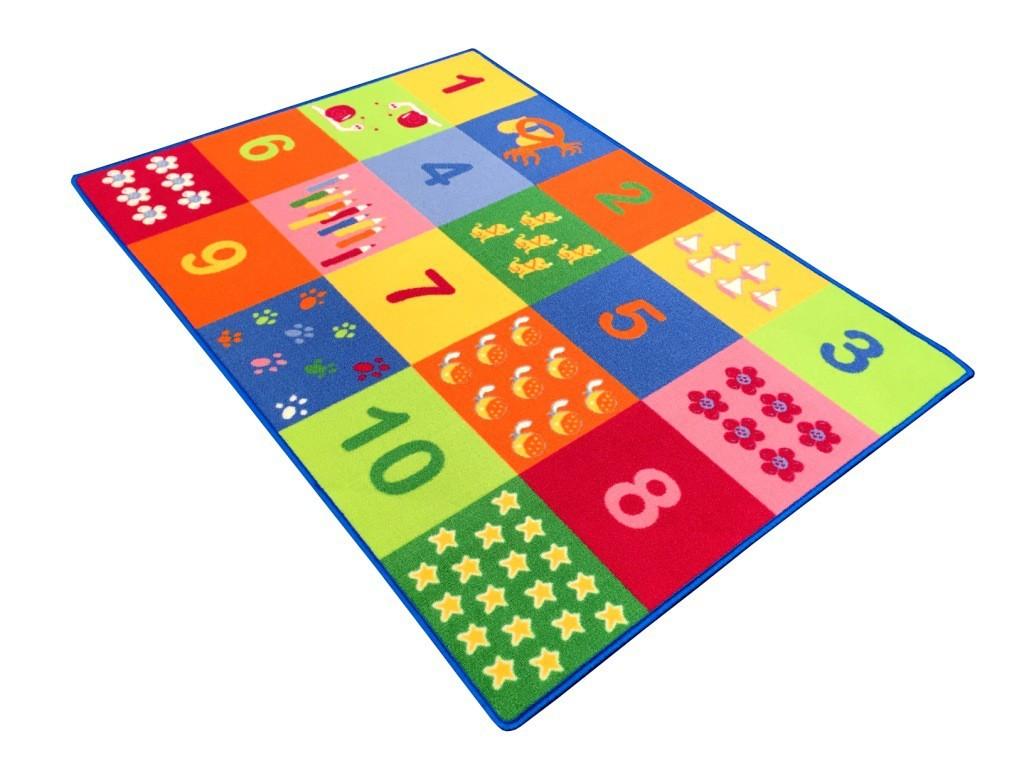 Detský koberec 100x140 cm (twister)
