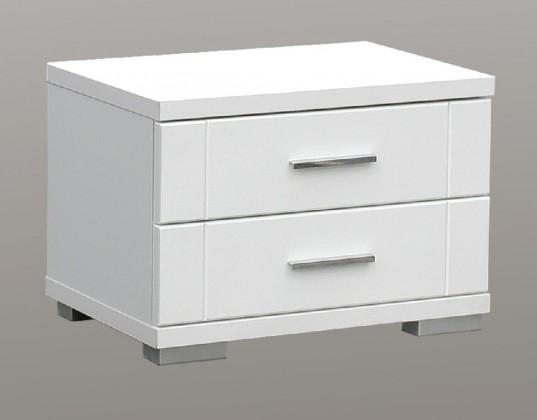 Detský nočný stolík Snow SNWK02 (biela C50)