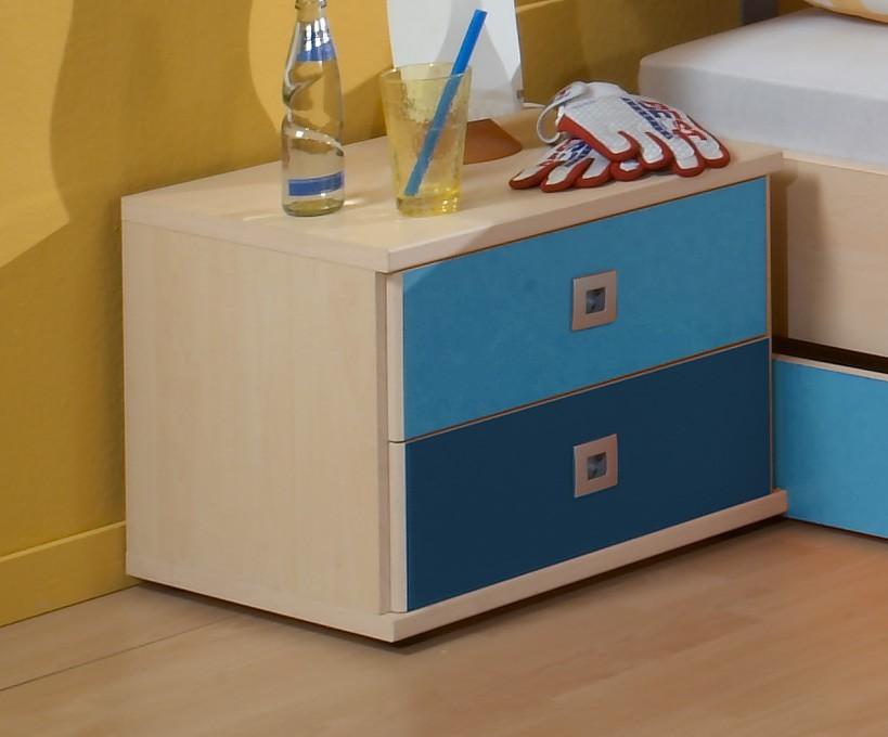 Detský nočný stolík Sunny - Nočný stolík (námornícka modrá)