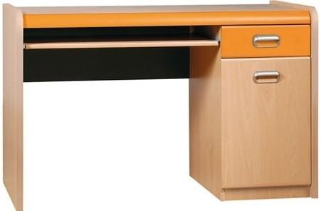 Detský pracovný stôl APLI APB40 (Pomaranč/javor)