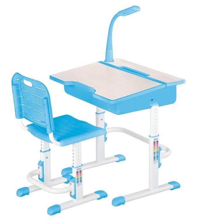 Detský pracovný stôl Astro 2 (modrá)