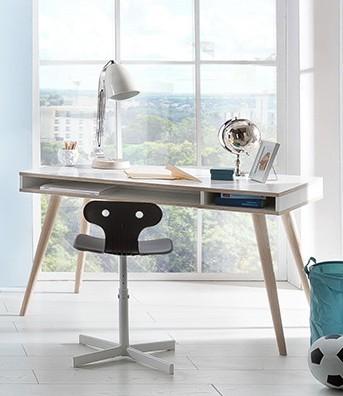 24b7b622b030 ... Detský pracovný stôl Billund - Písací stôl (alpská biela