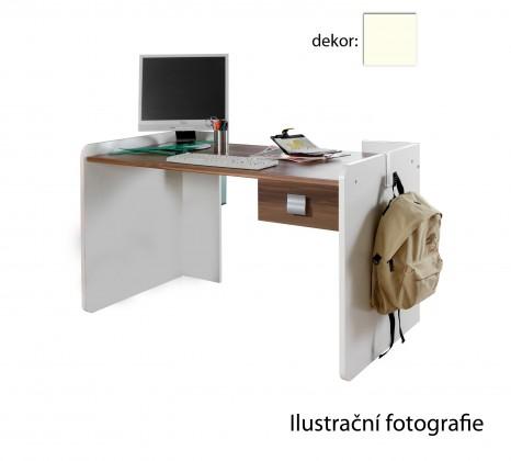 Detský pracovný stôl Jette - 320303 (alpská biela)
