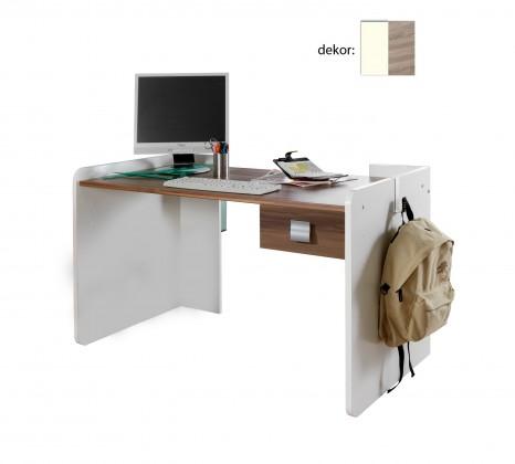 Detský pracovný stôl Jette - 321303 (alpská biela / dub pílený)