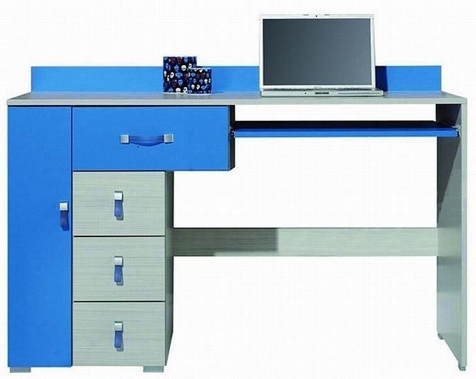 Detský pracovný stôl Komi KM 13 (Modrá)