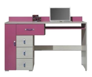 Detský pracovný stôl Komi KM 13 (Ružová)