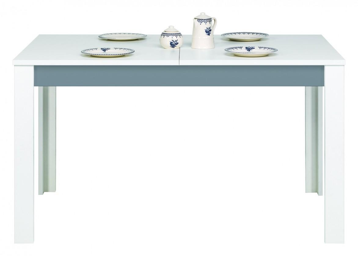 Detský pracovný stôl Lightning - Stôl,rozkladacia (biela, sivá)