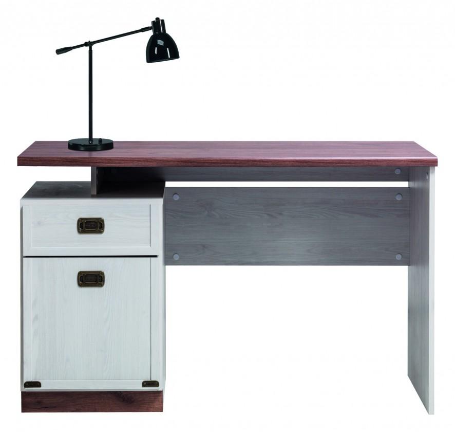 Detský pracovný stôl Moon - Písací stôl (smrekovec sibirský, dub)