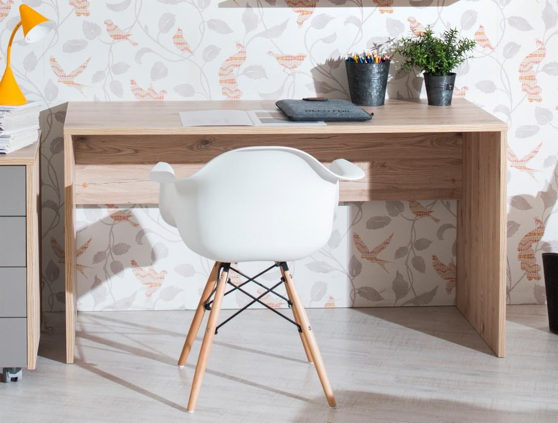 Detský pracovný stôl Sand - Písací stôl 140 cm, typ 53 (dub)