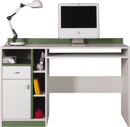 Detský pracovný stôl Stone - Detský pracovný stôl ST10 (biela, zelená)
