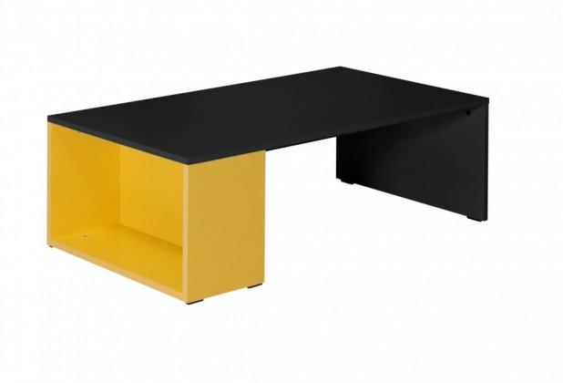 Detský pracovný stôl Tommy 22 (sivá/žltá)