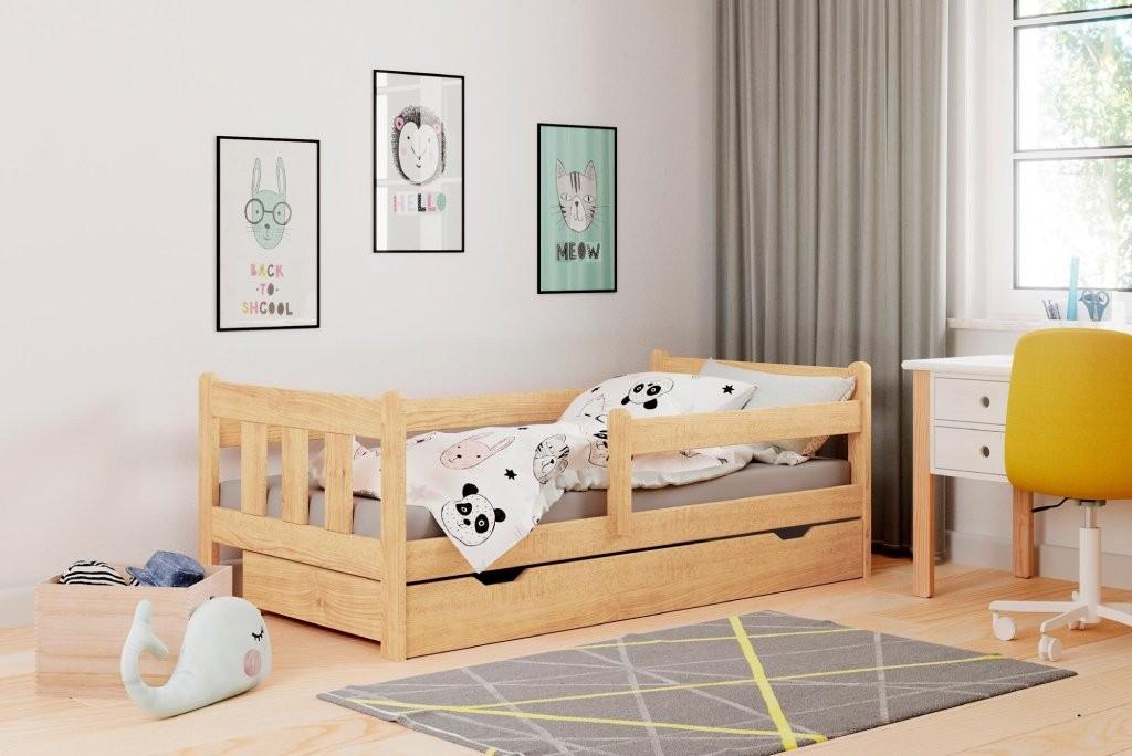 Detský regál Detská posteľ Tommy 80x160, borovica, ÚP, bez matraca