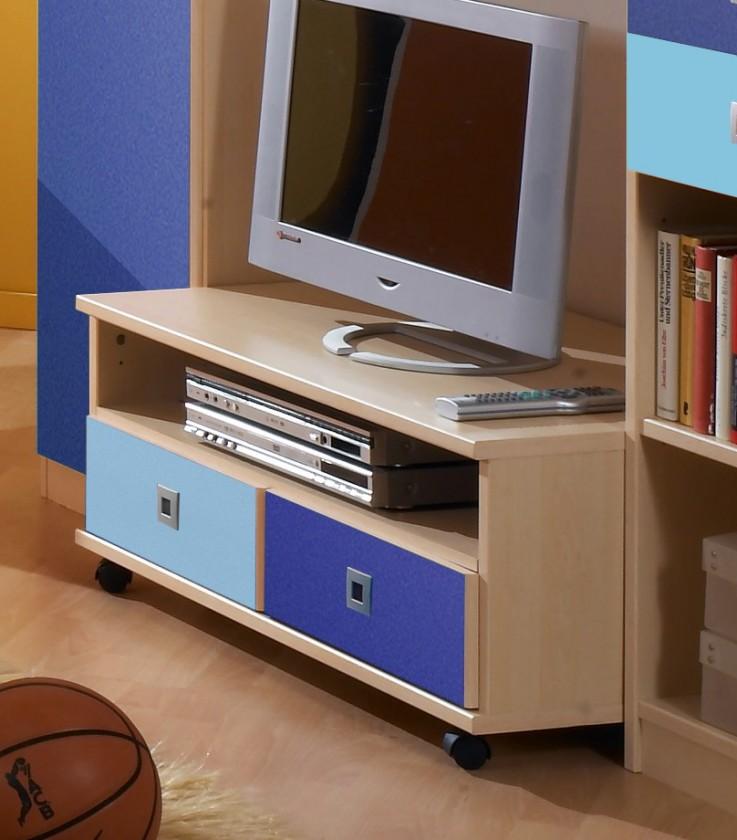 Detský TV stolík Sunny - TV stolík (námornícka modrá)