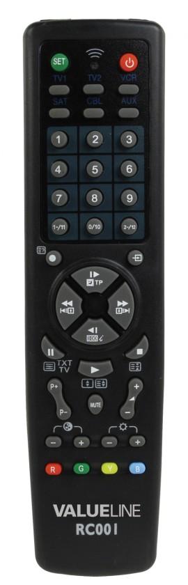 Diaľkové ovládače BasicXL - Diaľkový ovládač univerzání 10 v 1 - BXL-RC001