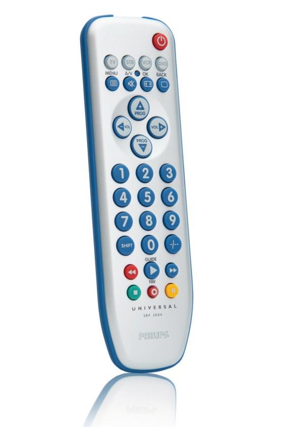 Diaľkové ovládače Diaľkový ovládač Philips SRP 3004