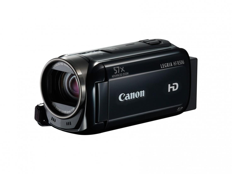 Digitálna videokamera Canon HF R506 čierna