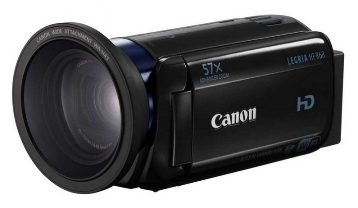 Digitálna videokamera Canon Legria HF R68, Full HD, 32x zoom, Wi-Fi