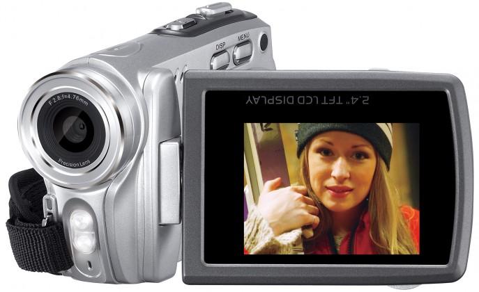 Digitálna videokamera  Genius digitální kamera DV800, HD, 16x zoom