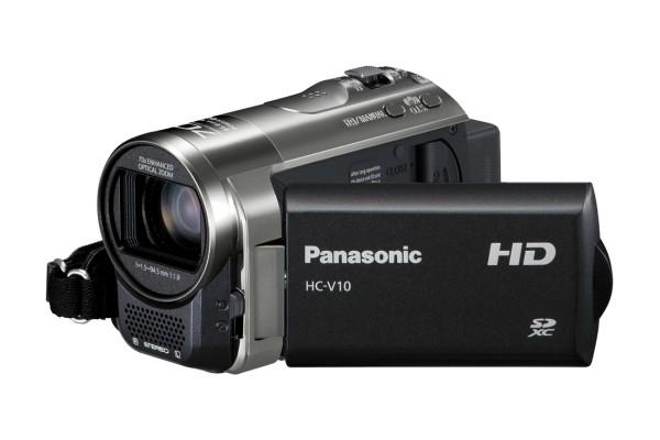 Digitálna videokamera  Panasonic HC-V10EP-K