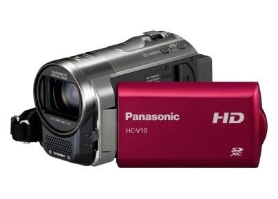 Digitálna videokamera  Panasonic HC-V10EP-R