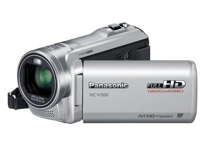 Digitálna videokamera  Panasonic HC-V500EP-S