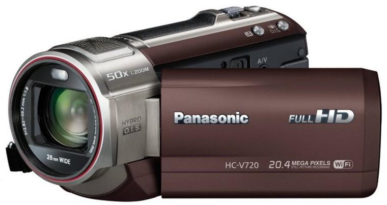Digitálna videokamera  Panasonic HC-V720