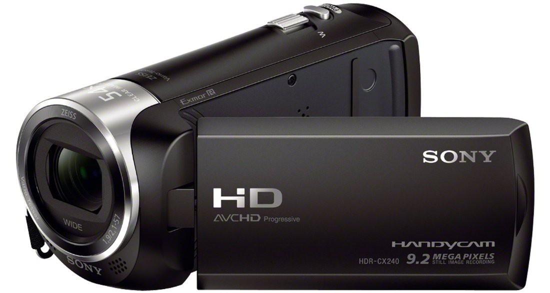 Digitálna videokamera Sony HDR-CX240EB čierna (HDRCX240EB.CEN) ROZBALENO