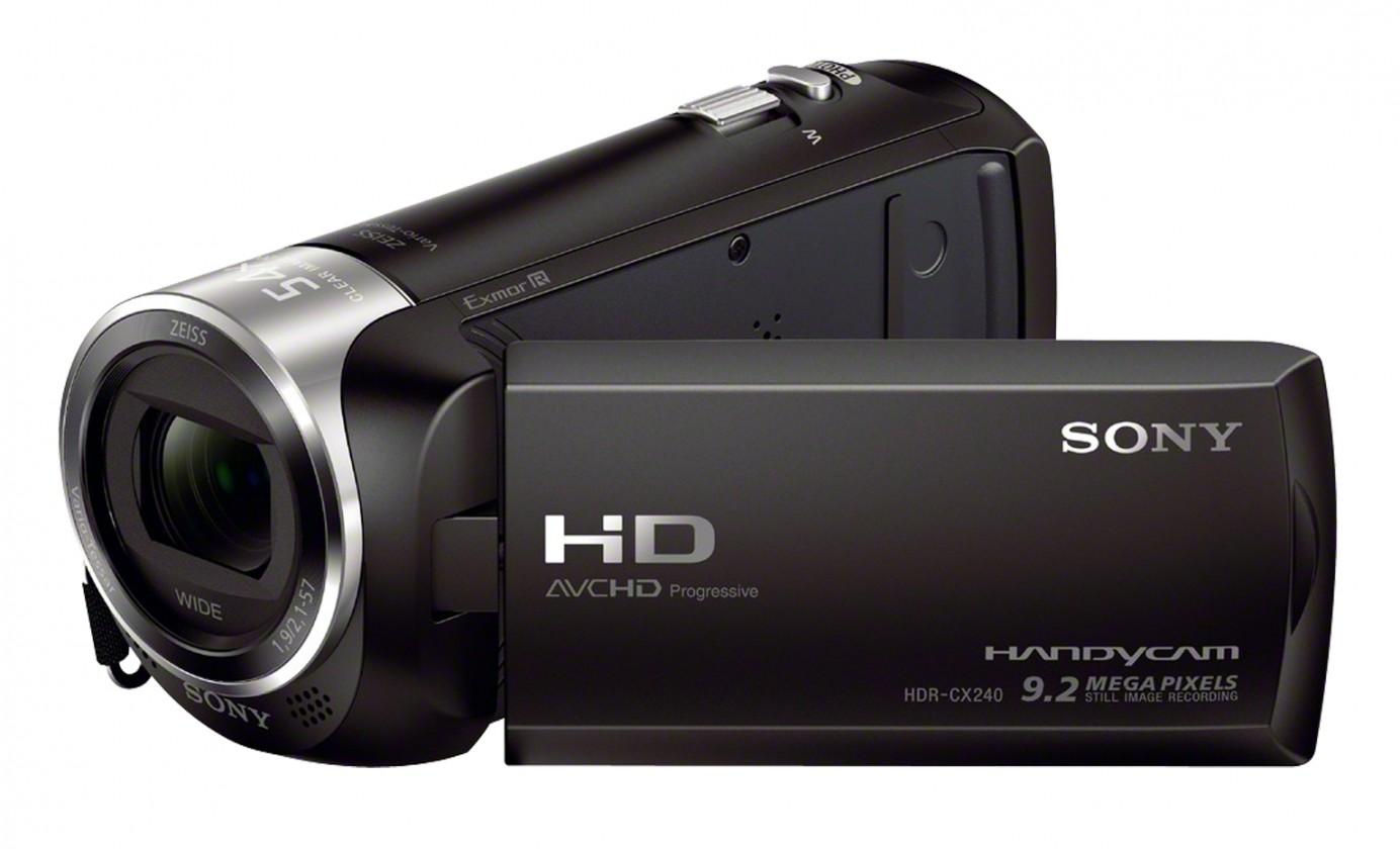 Digitálna videokamera Sony HDR-CX240EB čierna (HDRCX240EB.CEN)