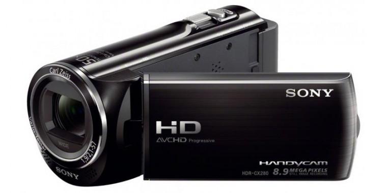 Digitálna videokamera  Sony HDR-CX280E černá